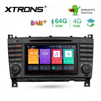 """7"""" Android 9.0 4G RAM Car DVD Multimedia Navigation GPS Radio for Mercedes-Benz G-Class W463 2006-2008 & C-Class W203 2004-2007"""