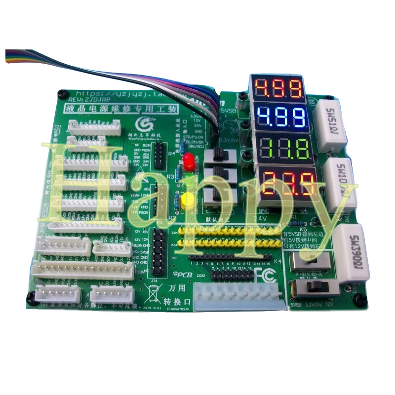 LCD TV Motherboard Analog Controller Power Plate Detection Tool Maintenance Power-supply Special Tooling With Digital Display