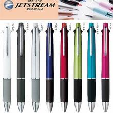 Ручка шариковая Uni MSXE5 1000 07 Jetstream 4 и 1, 4 цвета, 0,7 мм, 1 шт. (черная, синяя, красная, зеленая) + Карандаш 0,5 мм