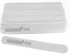 Image 5 - Limas de uñas de madera gruesa para manicura, 200 Uds., 180/240 120/180 240/320 100/150