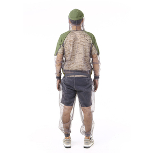 Image 3 - דוחה יתושים חיצוני חליפת באג מעיל רשת סלעית חליפות דיג ציד קמפינג מעיל חרקים מגן רשת חולצה כפפות