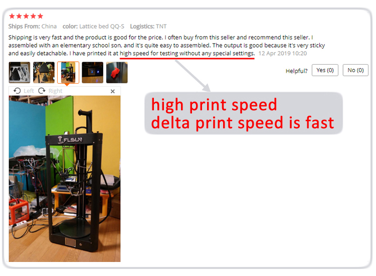 3d printer 7 high speed printing