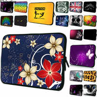 Funda Capa Computer Bag 15.6 17 10 12 7 15 Women Stylish Laptop Bag 14 13 Inch Neoprene Print Case For Lenovo Yoga 530 Sony Vaio