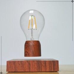 Più nuovo Spina di UE LED Levitazione Magnetica Della Lampadina di Notte Sensore di Luce Della Lampada Elettronica Parodia Regalo Hover Magia Home Office Decorazione