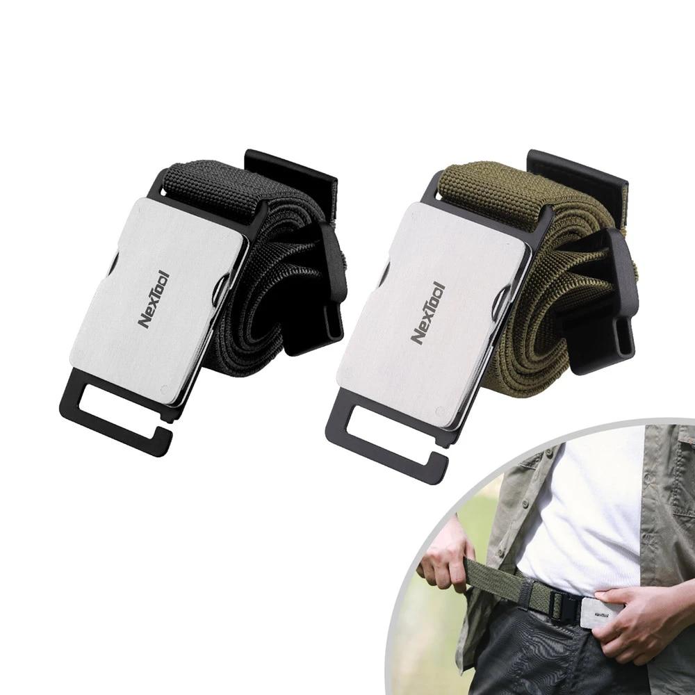 Nextool Multifunction Outdoor Belt Tool Durable Quick Release Lightweight Screw Drivers Knife Scissors Opener Daily Mending