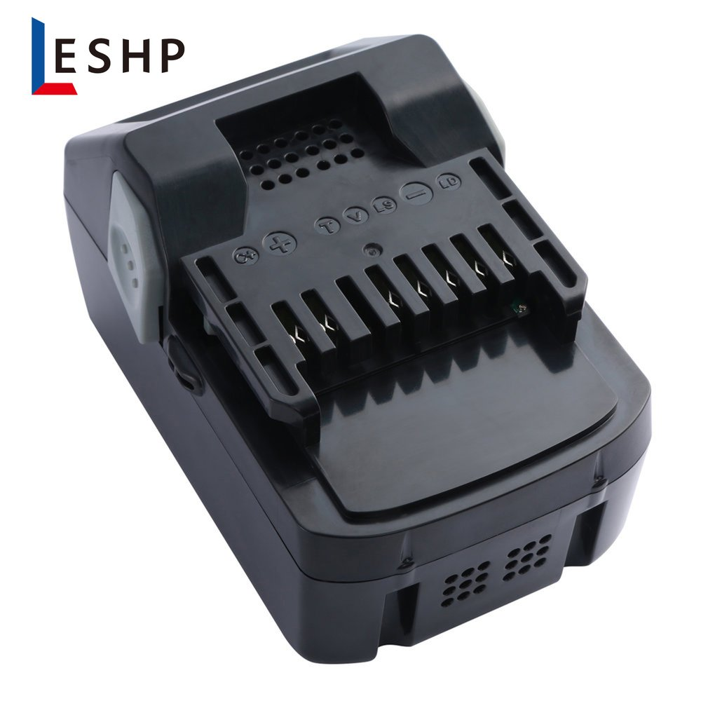 LESHP 18V/14.4V 4.0Ah Li-ion Rechargeable Battery For Hitachi Power Tool BSL1830 BSL1845 BSL1860 Replacement Lithium Bateria