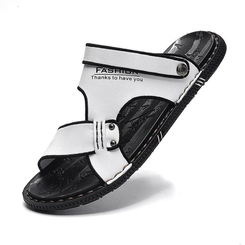 Купить модные летние шлепанцы tantu для мужчин дышащие уличные сандалии