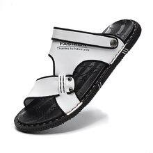Модные летние шлепанцы tantu для мужчин дышащие уличные сандалии