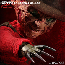 Cheap toys 24.5cm Mezco Toyz 99400 10inch Living Dead Ghost Street Freddy Collection Action Figur for Fans Holiday PVC Figure цена 2017