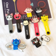 Cartoon Cable Protector Data Line Cord Protector Protective Case Cable Winder Cover For iPhone Charging Cable protecto cartoon cable protector data line cord protector protective case cable winder cover for iphone charging cable protecto