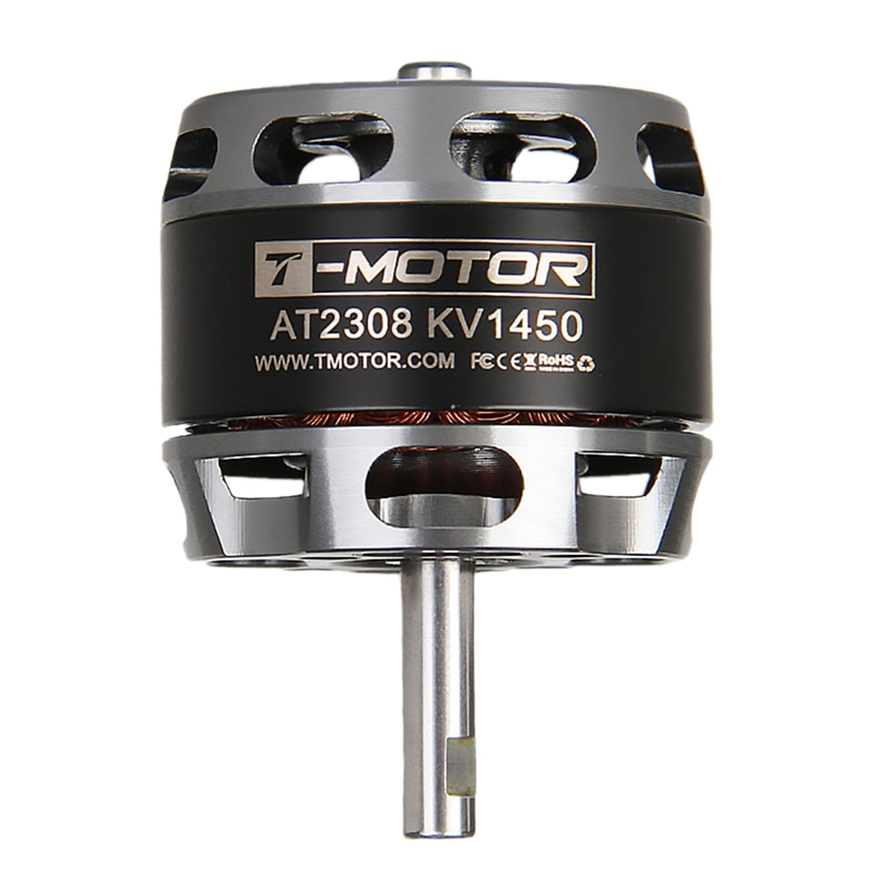 T-Motor AT2308 <font><b>1450KV</b></font> Long Shaft Brushless Motor for RC Airplane Fixed Wing Model image