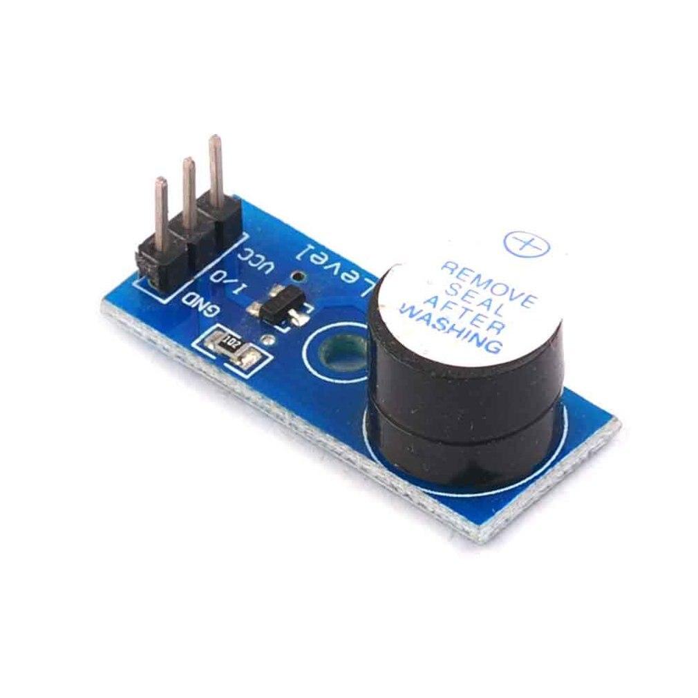 New Electronic Building Block Active Buzzer Module High Level Trigger Buzzer Control Board Easy Installation
