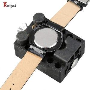 Image 3 - RUIPAI 14pc Watchmaker Watch Link Pin Remover Case Opener Repair Tool Kit  Spring Bar Remover Horlogemaker Gereedschap