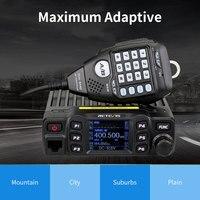 vhf uhf RETEVIS RT95 Mobile Radio רכב מכשיר קשר VHF UHF רכב Ham Radio אמאדור TFT LCD Display 25W דו כיוונית רכב רדיו המשדר + MIC (4)