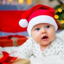Рождественские шляпы, вечерние шляпы Санты для детей и взрослых, красные украшения, новогодние украшения, подарок для детей, товары для праздников и вечеринок
