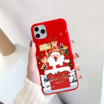 Christmas Cartoon Case for iPhone 12/12 Max/12 Pro/12 Pro Max 5