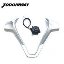 Lenkrad Geändert Rahmen Geschwindigkeit Control Schalter Tempomat Taste & Kabel Kit Für Ford Fiesta MK7 MK8 ST Ecosport 2013