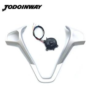 Image 1 - Volante Modificato Telaio di Controllo della Velocità Interruttore di Pulsante di Controllo di Crociera e Kit Cavo Per Ford Fiesta MK7 MK8 ST Ecosport 2013