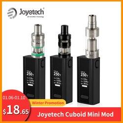 [RU] paquet Simple Original Joyetech cuboïde Mini batterie 80W intégré 2400mAh cuboïde Mini VT/TC Mode Vape Mod E-Cigarette