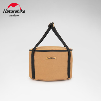 Naturehike pojemnik do przechowywania na biwaku pojemnik w kształcie wiadra kwadratowy pojemnik do przechowywania na biwaku rozmaitości torby do przechowywania torby tanie i dobre opinie CN (pochodzenie) PŁÓTNO Camping Storage Box Bag Camping Equipment Storage Box Round 32*21CM Square 28*24*10CM Canvas And 600D Oxford Cloth