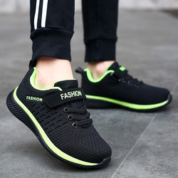 2020 Sale Lightweight Kids Sneakers Breathable Boys Shoes Non-slip Children's Casual Shoes Flying Knit Girl Footwear Zapatillas