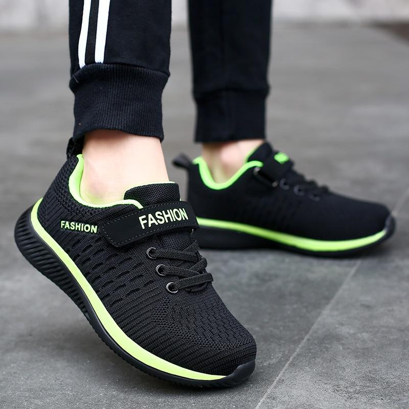 2020 распродажа; Легкие детские кроссовки; Дышащая обувь для мальчиков; Нескользящая детская повседневная обувь; Вязаная обувь для девочек; Zapatillas