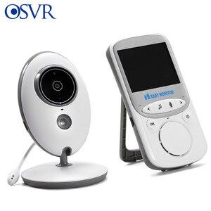 VB605 беспроводной ЖК-Аудио Видео видеоняня с камерой музыкальная Интерком ИК 24h портативная детская камера детская 2,4-дюймовая няня радионян...