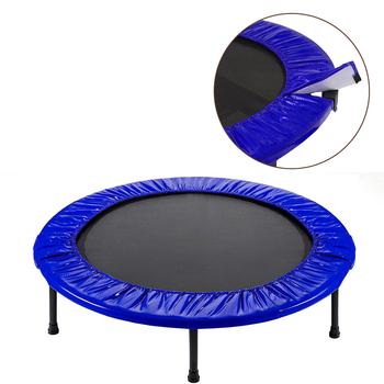 Nowa podkładka bezpieczeństwa o dużej gęstości zewnętrzne wodoodporne części zamienne amortyzacja trampolina pokrywa Oxford tkaniny 36-60 cali okładki tanie i dobre opinie CN (pochodzenie) Trampoline Protection Cover