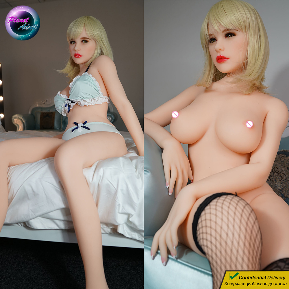PiperDoll Mindy <font><b>155cm</b></font> <font><b>Sex</b></font> <font><b>Doll</b></font> Soft TPE Realistic Girl Big Tits Highly Customizable Hair Nails Vagina Eyes Adult Toy for Man image