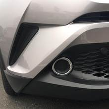 Sus304 STAINLESS STEEL REAR Taillights side trim for TOYOTA C-HR CH-R 2016 2017