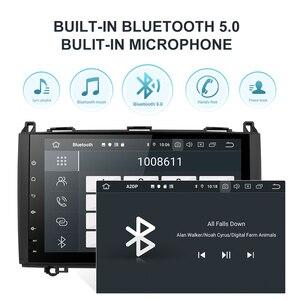 Image 4 - Isudar PX6 1 Din Android 10 Auto Radio For Mercedes/Benz/Sprinter/Viano/Vito/B class/B200/B180 Car Multimedia DVD Player GPS FM