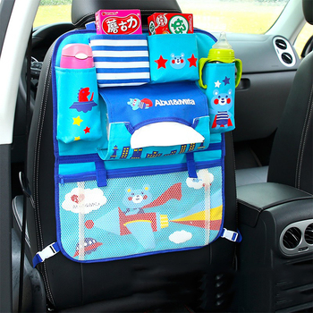 multifunctional car seat rear back storage bag hanging bags polyester box safety organizer supplies