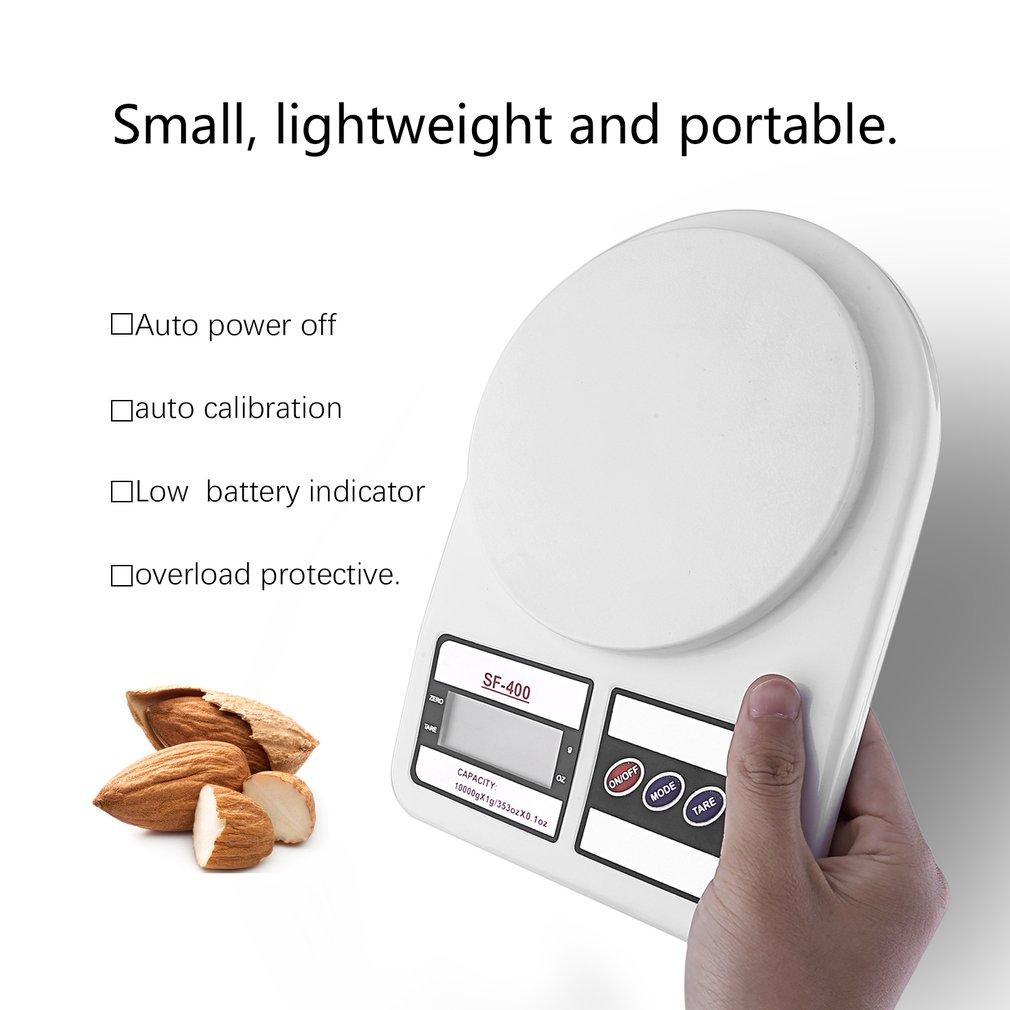 Высокоточные домашние кухонные весы 5/7/10 кг x 1 г, ЖК-дисплей, цифровые электронные весы, бытовые весы, новейшие весы-2