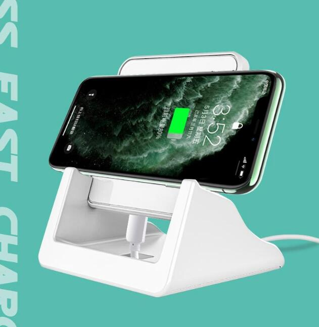 15W Wireless Charging Pad for <font><b>Samsung</b></font> <font><b>Galaxy</b></font> A71 A51 Wireless Induction <font><b>Charger</b></font> Stand for <font><b>Galaxy</b></font> A50s A70 A31 A21 A41 <font><b>A7</b></font> 2018 image