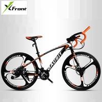 New Brand Road Bike Carbon Steel Frame Patent handlebar Cycling Racing Bicycle SHIMAN0 30 Speed Sports Disc Brake Bicicleta