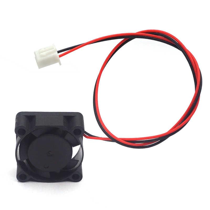 Plastic Koelventilator Zwart Accessoire 2.5Cm Voor 3D Printer 0.08A Dc 12V/24V 10000Rpm Mini hoge Kwaliteit