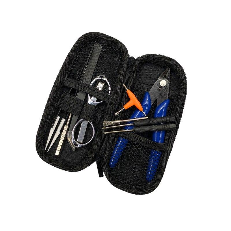 V3 Vape Ceramic Tweezers Heat Wire Pliers Tool Bag Atomizer Coil Jig Portable Tool Kit