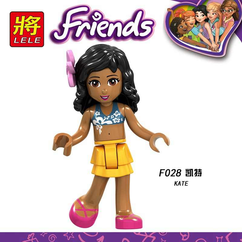 Legoing Friends Figures Princess Andrea Girl Olivia Kate Emma Dancet Set Mia Girls Martina Stephanie Blocks Friends Legoing Toys