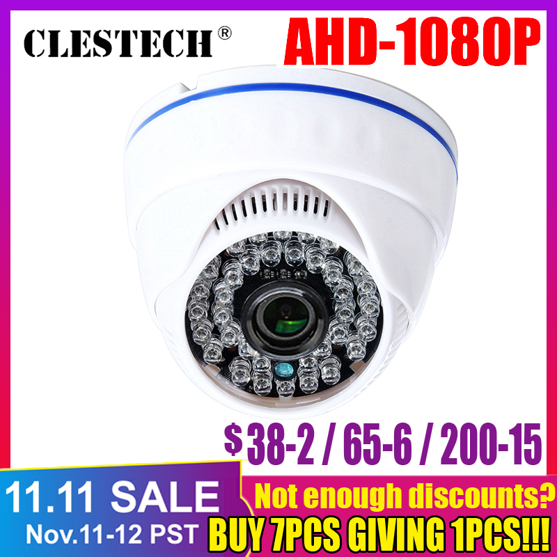 HD 3000TVL All Full 2MP AHD CCTV Camera 720P/960P/1080P SONY IMX323 HD Digital Indoor Dome Cam Infrared Home Security Surveillan