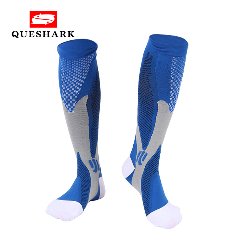 Men Women Sports Long Compression Socks Cycling Running Knee High Stockings Anti Fatigue Pain Relief Football Basketball Socks