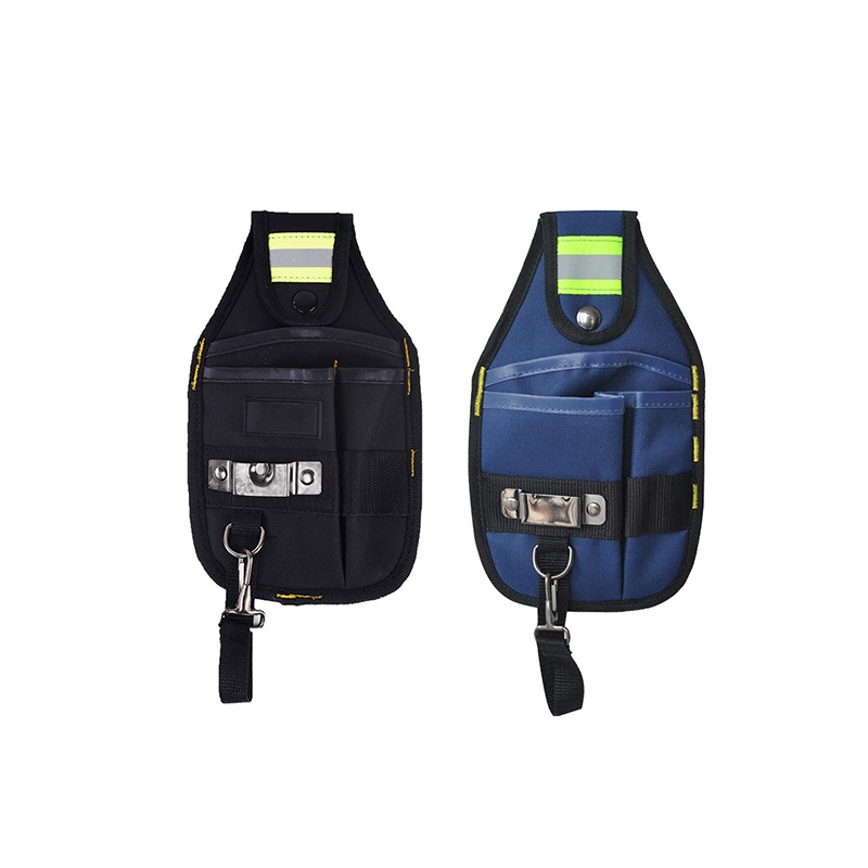 Strong Oxford Cloth Tool Bag And Thicken Design Wear Waterproof Electrician Wide Tool Belt Holder Kit Tool Pouch With Pockets