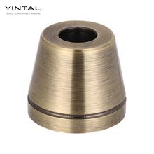 Podstawa do maszynki do golenia klasyczne podwójne zabezpieczenia na kanty podstawa do golenia akcesoria do golenia brązowy kolor antypoślizgowy 1 szt (tylko podstawa bez maszynki do golenia) tanie tanio YINTAL Mężczyzna Y-B02 3 5*3 cm Brak Ciało Aluminum alloy Razor Suitable for Diameter =1 3 cm 60 g