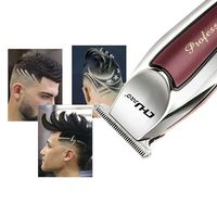 USB Charging Vintage Oil Head Carving Electric Hair Clipper Barber Shop Trimming Gradient Small Faders