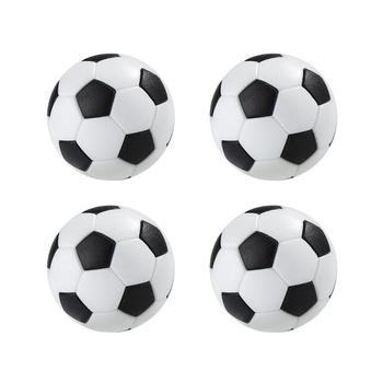 New 4 Pcs 32mm  Design Indoor Game Football  Sport Gifts Round Plastic Soccer Ball Table Fussball Durable Kid Play Toys