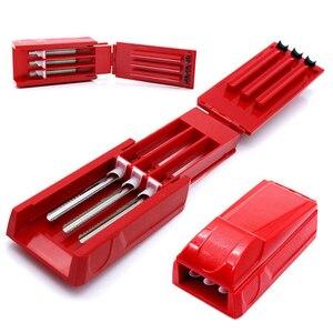 Image 2 - Manuale Triplo Tubo Sigaretta Iniettore Roller Maker Macchina di Laminazione Tabacco Maker Fumare erba Accessori Per Sigarette