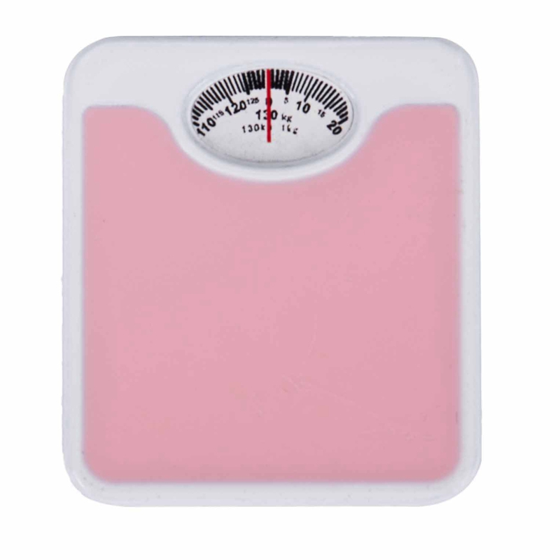 1:12 Scale Miniature Weigh Scale Dolls House Accessories Pink