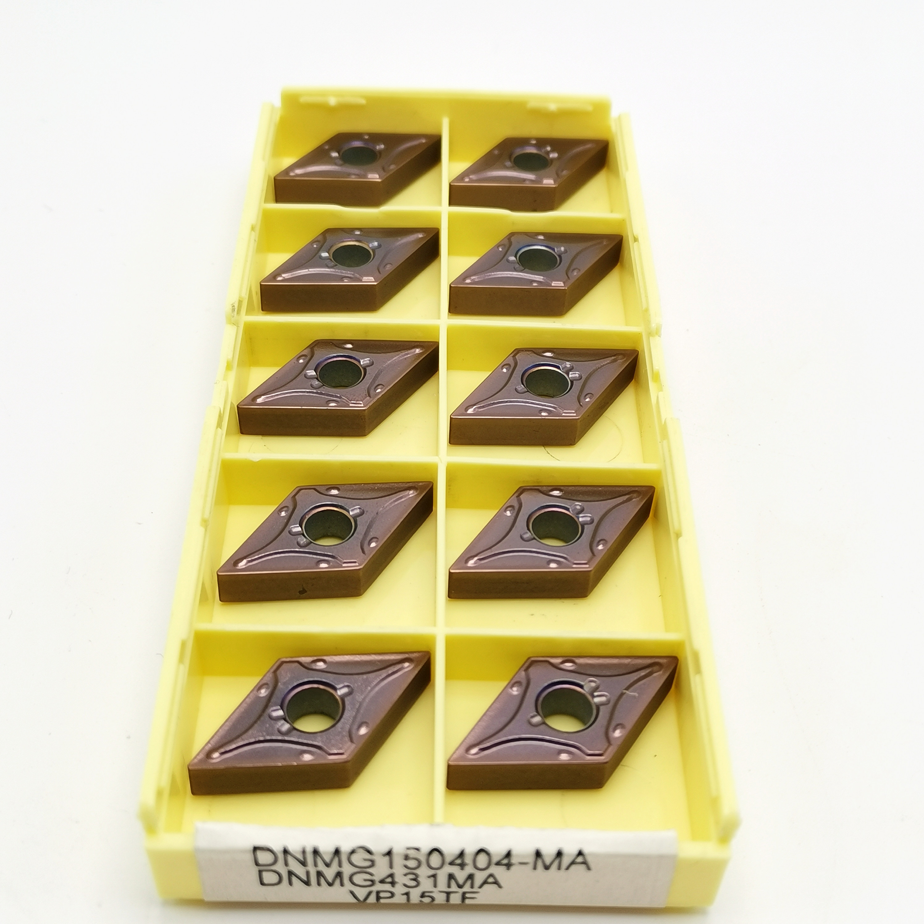 10PCS Carbide Insert DNMG150404 MA VP15TF UE6020 US735 High Quality CNC Lathe Tool DNMG 150404 Milling Lathe Tool