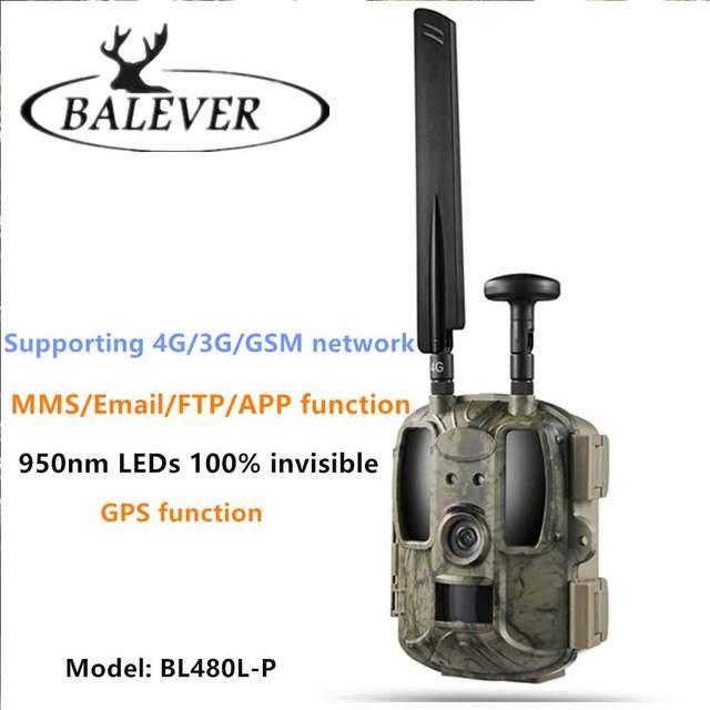 Balever BL480L-P 4G Hunting Trail Cameras 940nm IR Wildlife Forest  Trap 12MP HD Wild Game Cameras фотоловушка для охраны 6