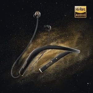 Image 2 - Whizzer AM1E HiFi 5.0 سماعات بلوتوث الرياضة شريط حول الرقبة المغناطيسي سماعات لاسلكية مقاوم للماء مع هيئة التصنيع العسكري لنظام أندرويد IOS 15h
