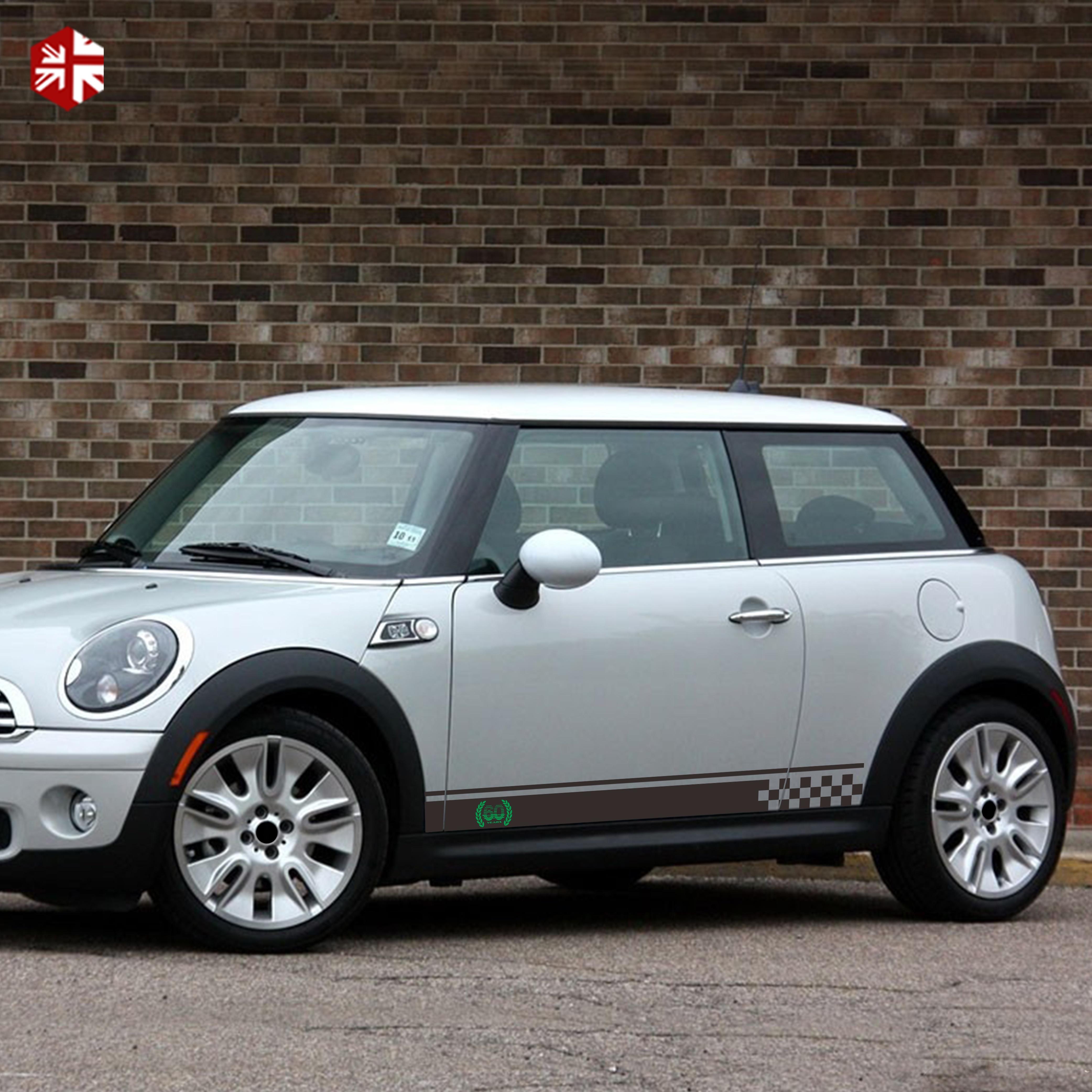 Mini Cooper Accessories 2013 >> Best Price 3e99 2 Pcs 60th Anniversary Decal Car Door